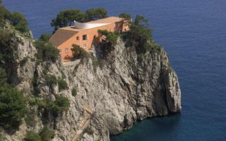 Villa Malaparte, residenza ufficiale del famoso scrittore